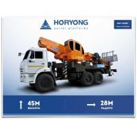 КамАЗ 43118 с автовышкой Horyong SKY 450SF